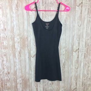 Assets by Spanx Black Tight Dress Sz M Shapewear